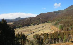 坂元棚田の全景