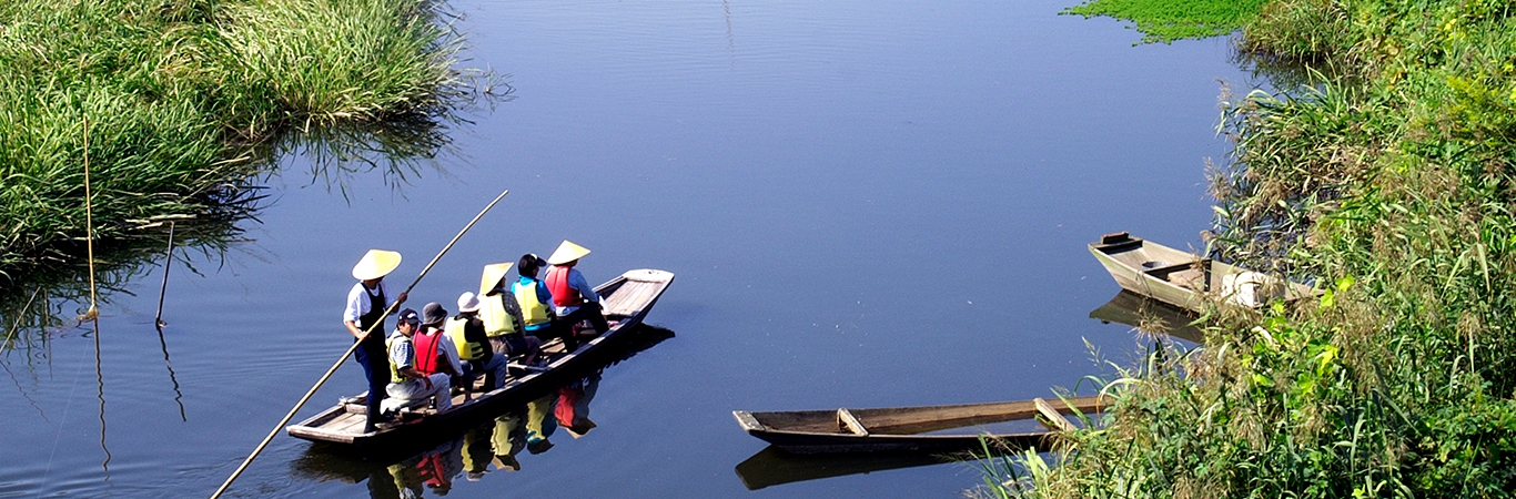 利根川・渡良瀬川合流域の水場景観