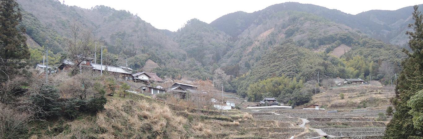 奥内の棚田及び農山村景観