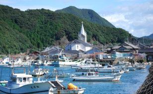 﨑津の漁村風景