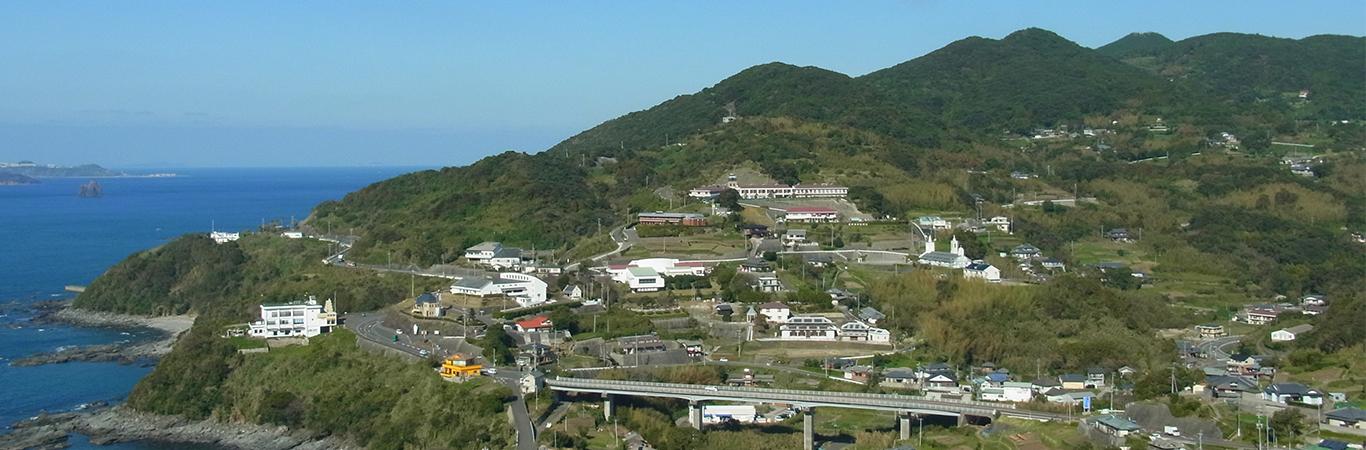 長崎市外海の石積集落景観
